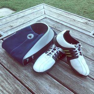 Men's Adidas Tour 360 Golf Shoes (Sz 9.5)